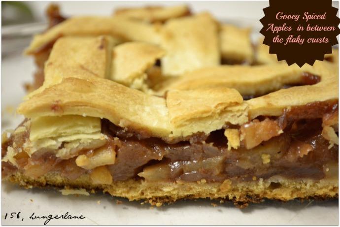 Eggless Apple Pie
